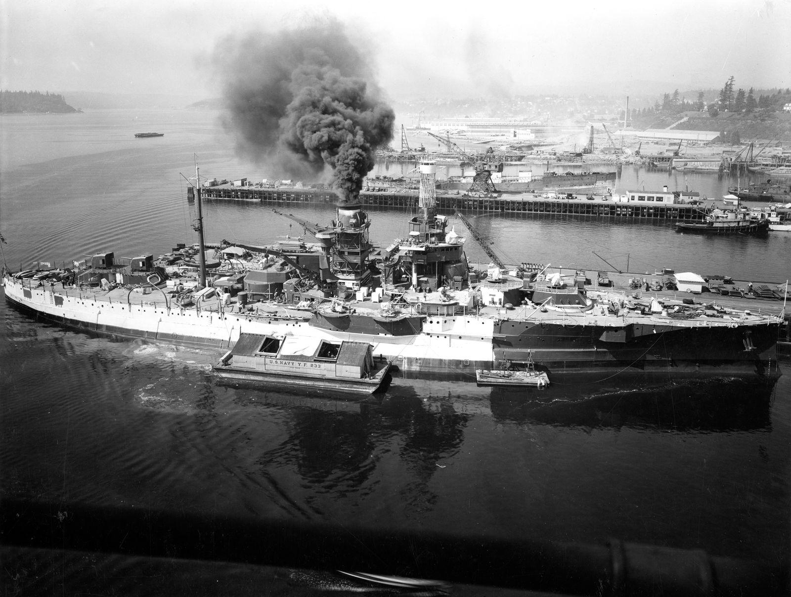 RIP: How the Radio-Controlled Battleship USS Utah Sunk