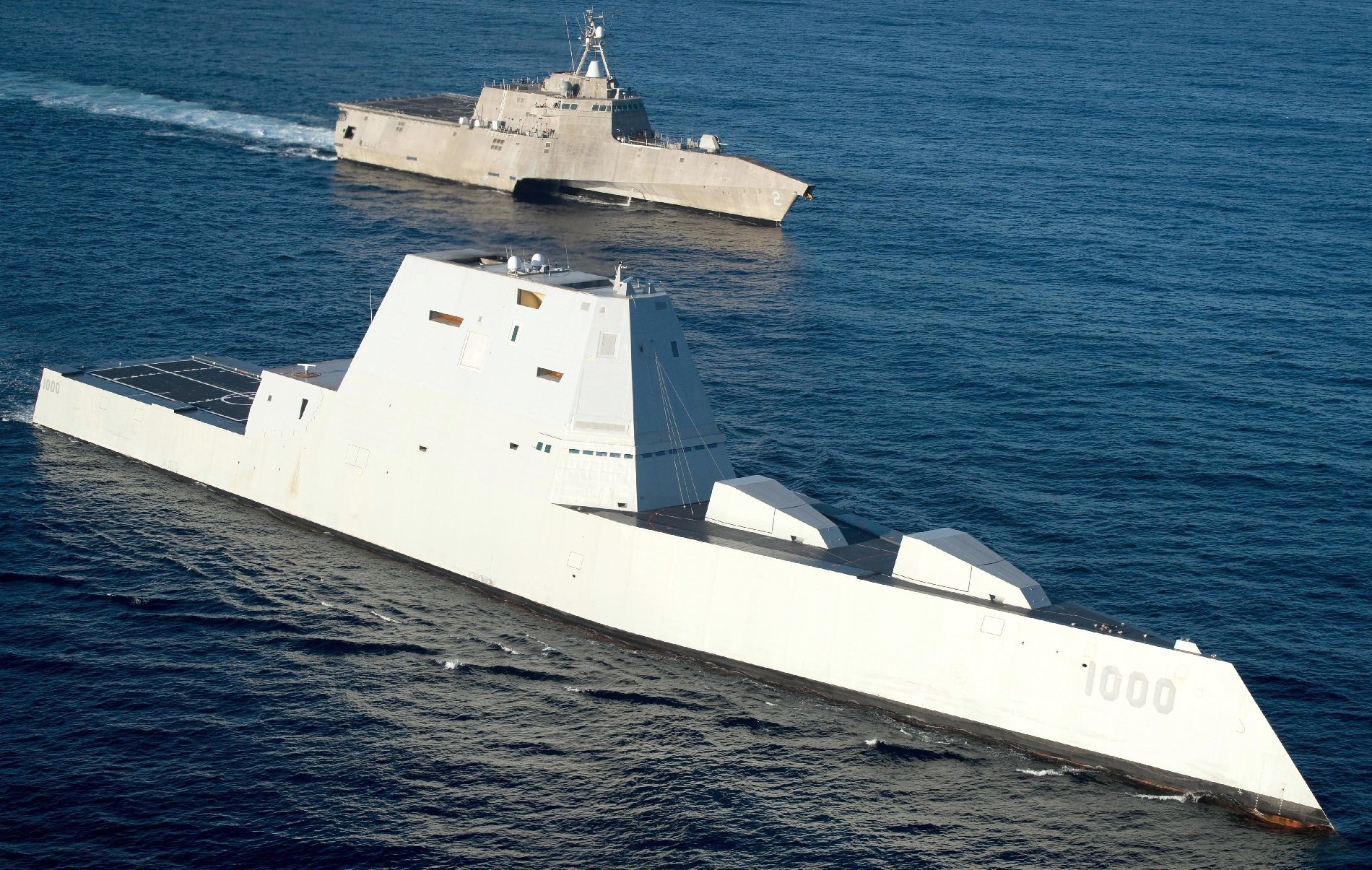 The Navy's Lethal New Stealth Destroyer Is No 'Battleship'   The
