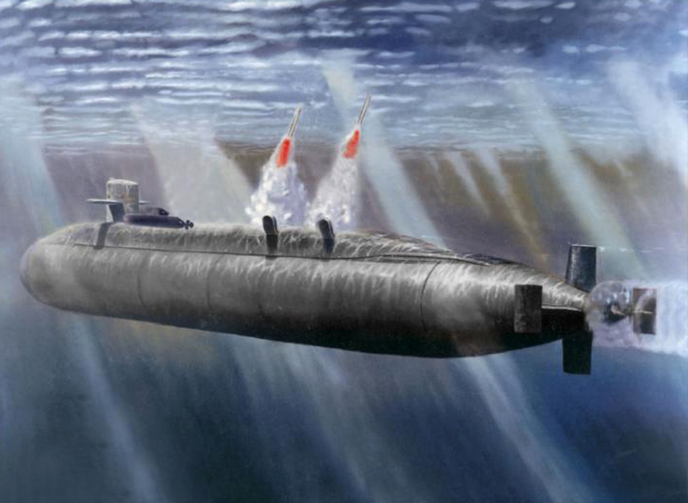 Warning Like No Other: The Navy Surfaced 3 of These Subs In a Message