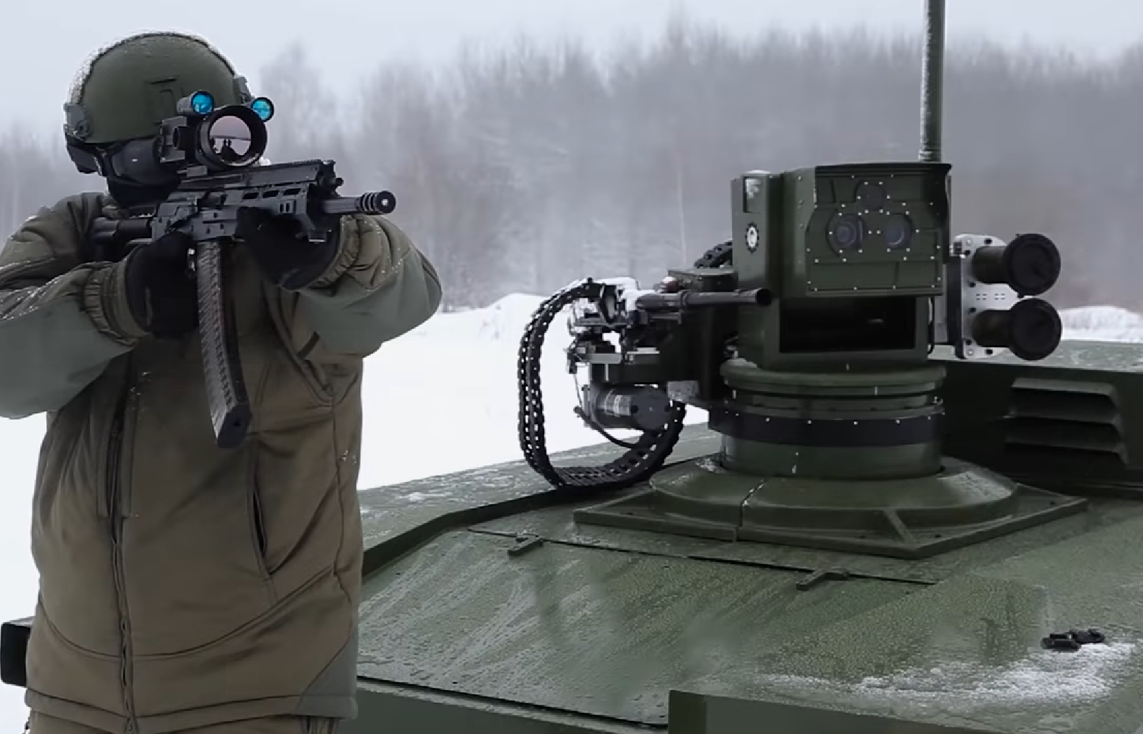 This Video Might Be the Future of Russia's Army: Armed Ground Robots