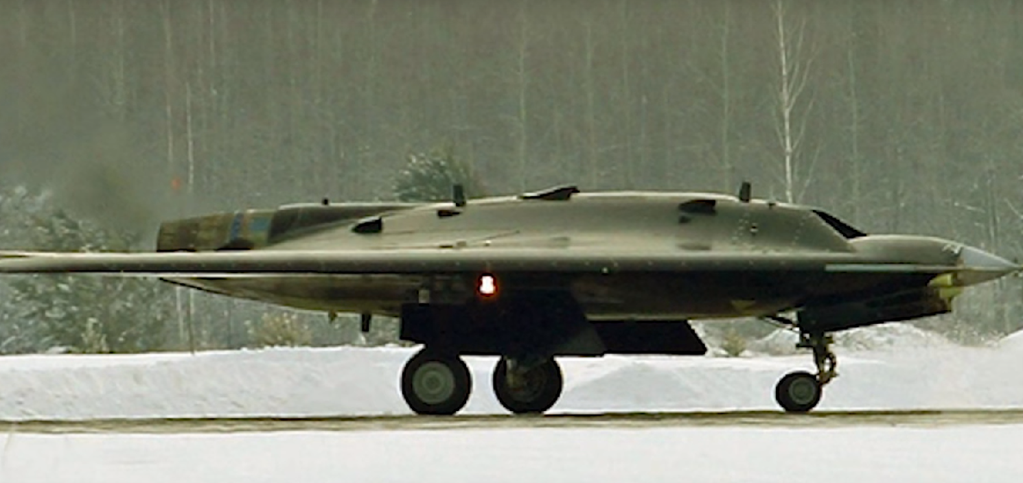 Russia's New Stealth Drone Looks Like a B-2 Stealth Bomber. But Can It Fight?
