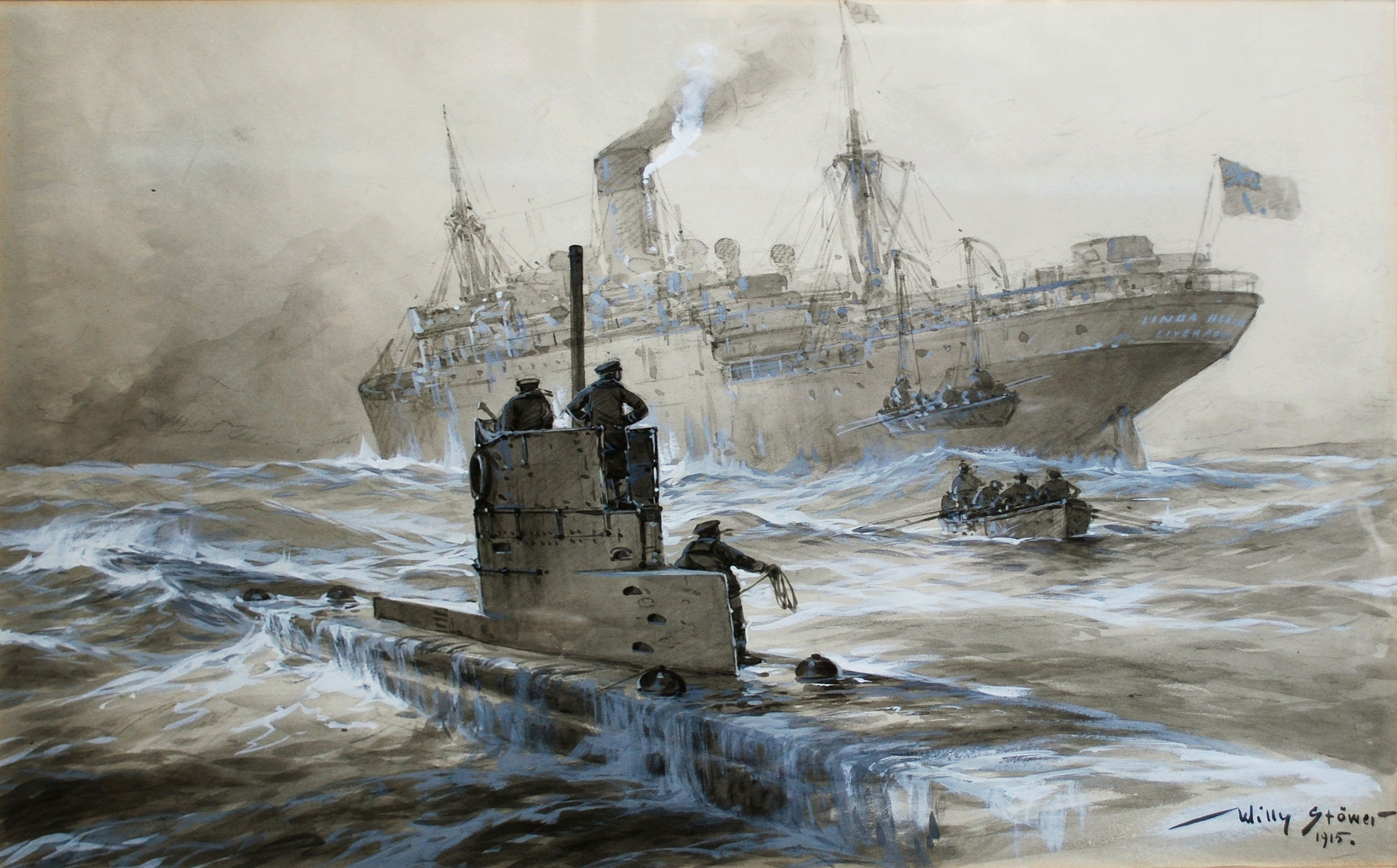 World War I Taught the U.S. Navy How to Fight Submarines