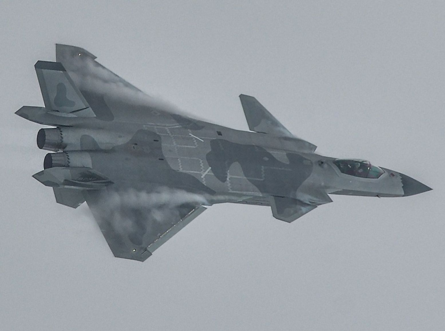 China's J-20 Stealth Fighter Is Built on Stolen F-35 Technology