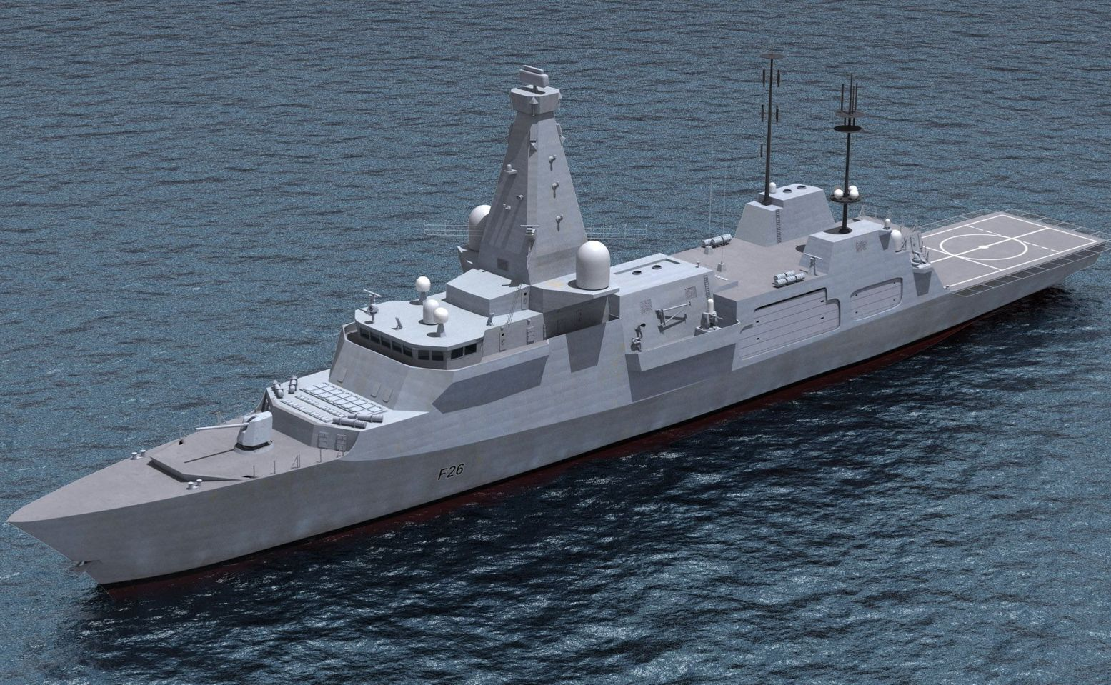 Britain's New Type 26 Frigate Is Going to Be Amazing