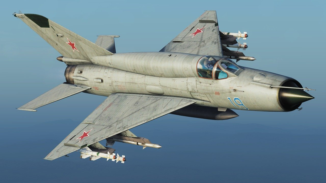 Forget Stealth Fighters: The Old MiG-21 Might Be Russia's Best ...