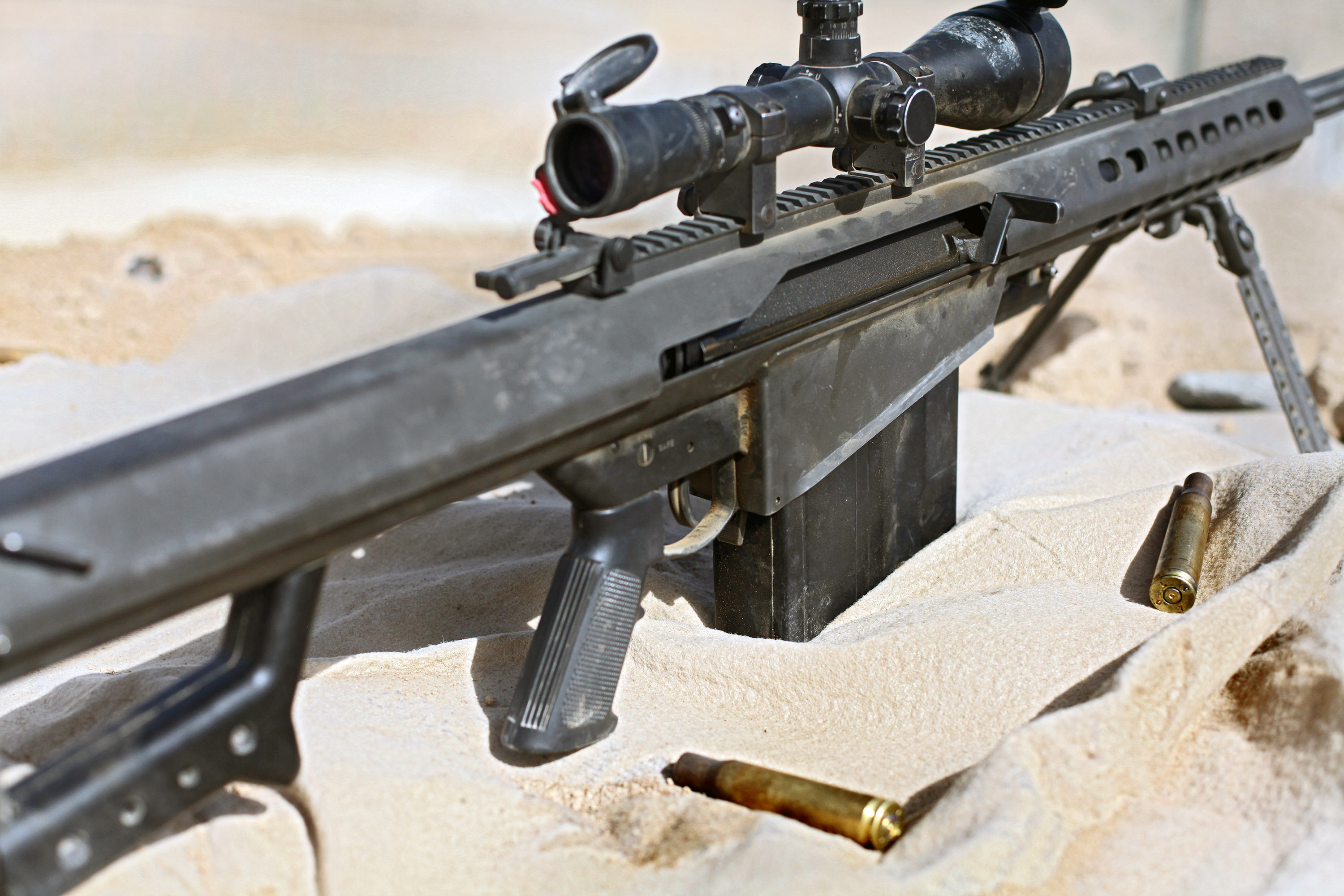 The Barrett M82 Sniper Rifle The Gun Every Military Fears Most The National Interest