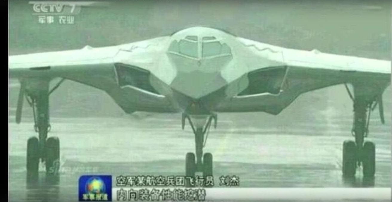 Does This Blurry Picture Prove China's H-20 Stealth Bomber Is the