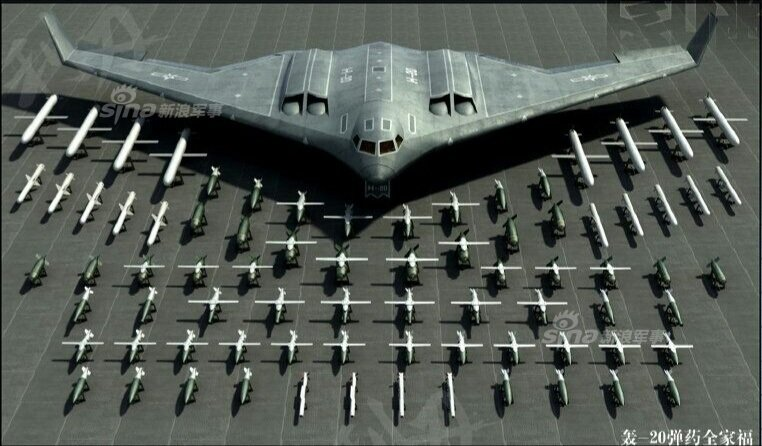 China's Very Own B-2 Stealth Bomber? Meet the H-20 Stealth Bomber.