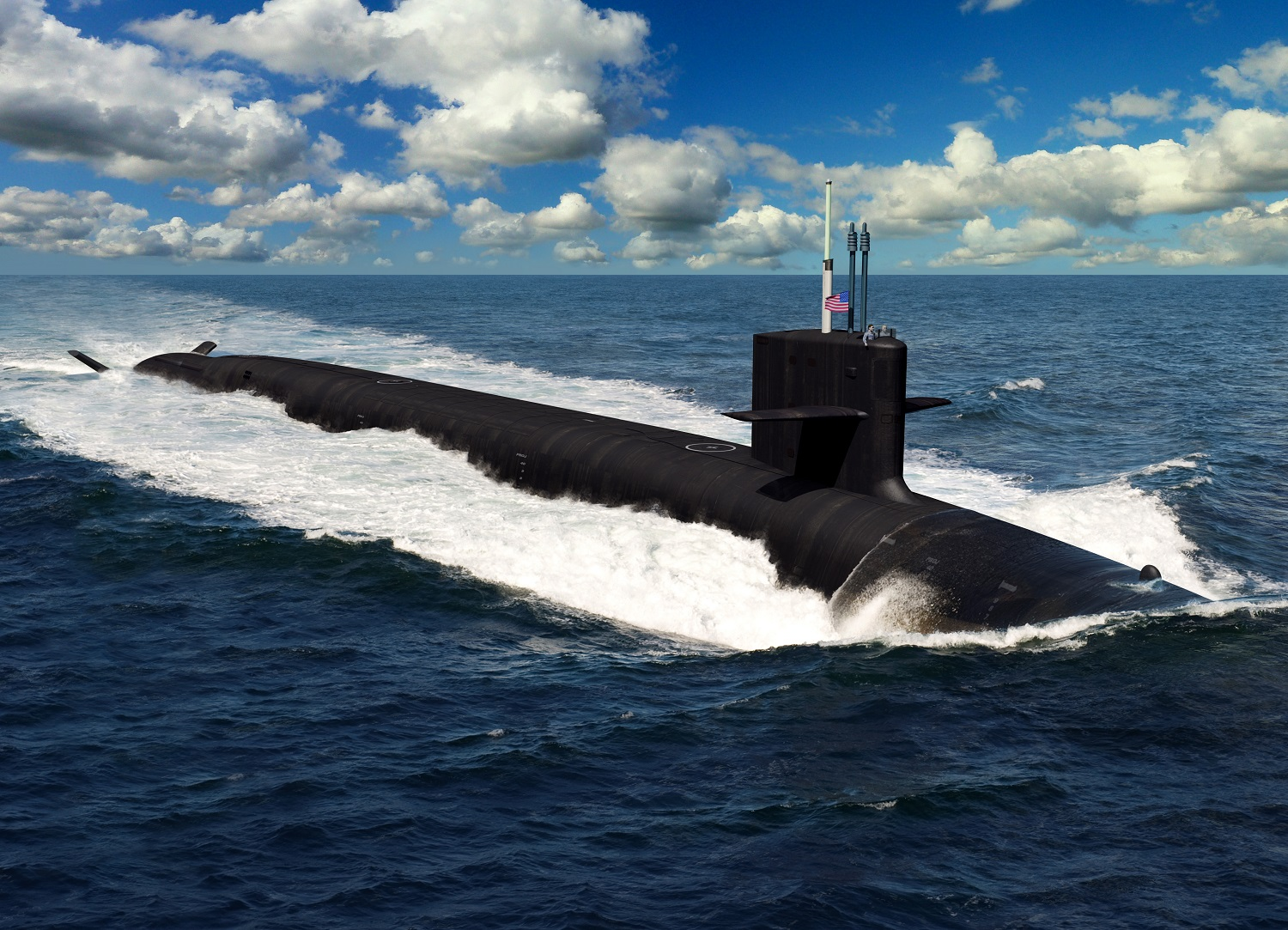 The Navy's New Columbia-Class Nuclear Submarine Is Armed with a New Missile