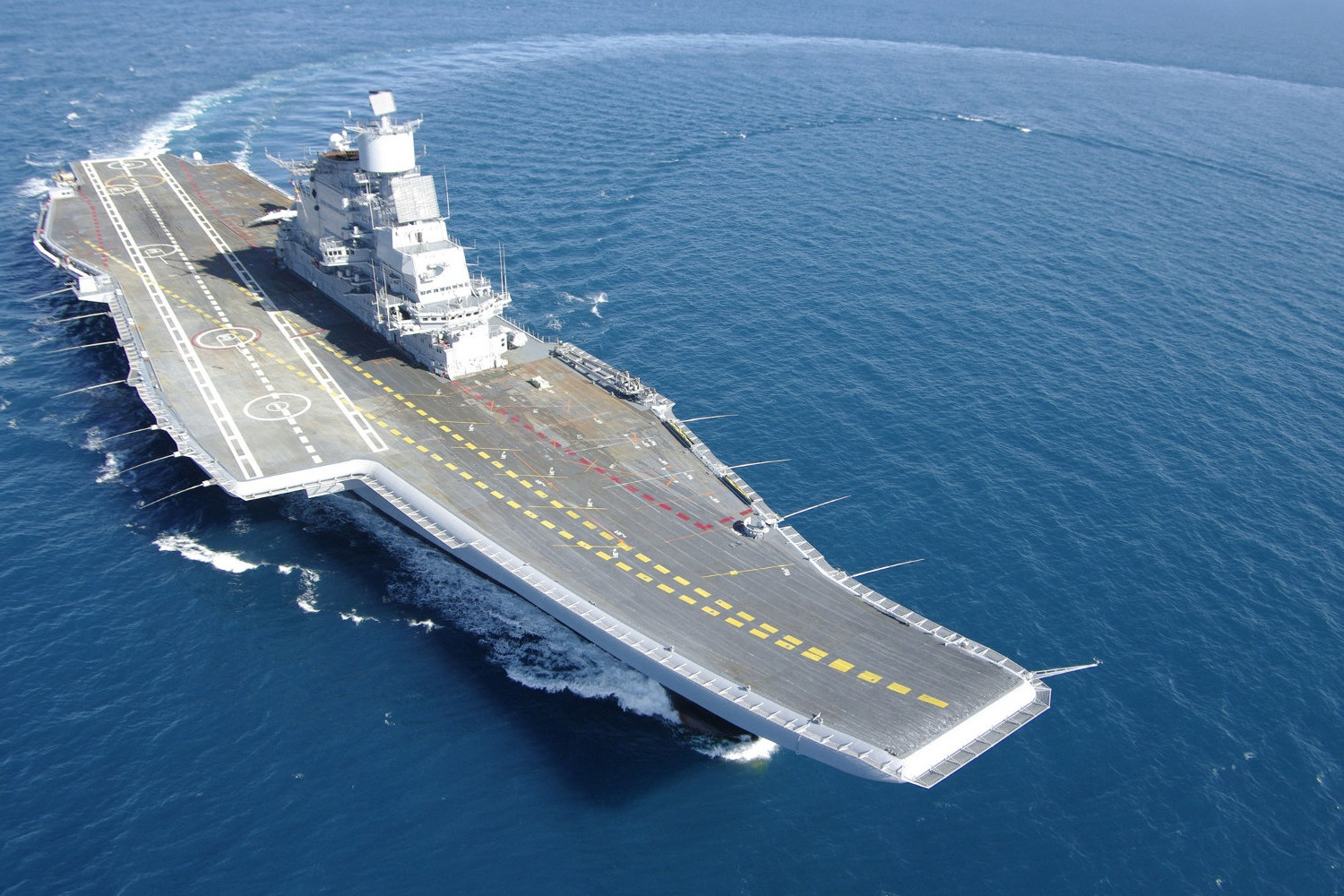 India's Only Operational Aircraft Carrier Caught Fire. China Thinks It Knows Why.