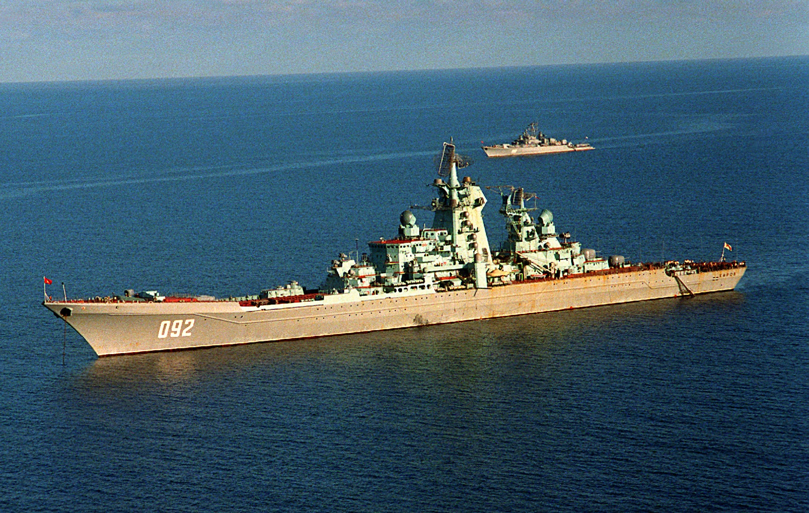 Russia's Navy: Modernizing but Where Are the Aircraft Carriers and