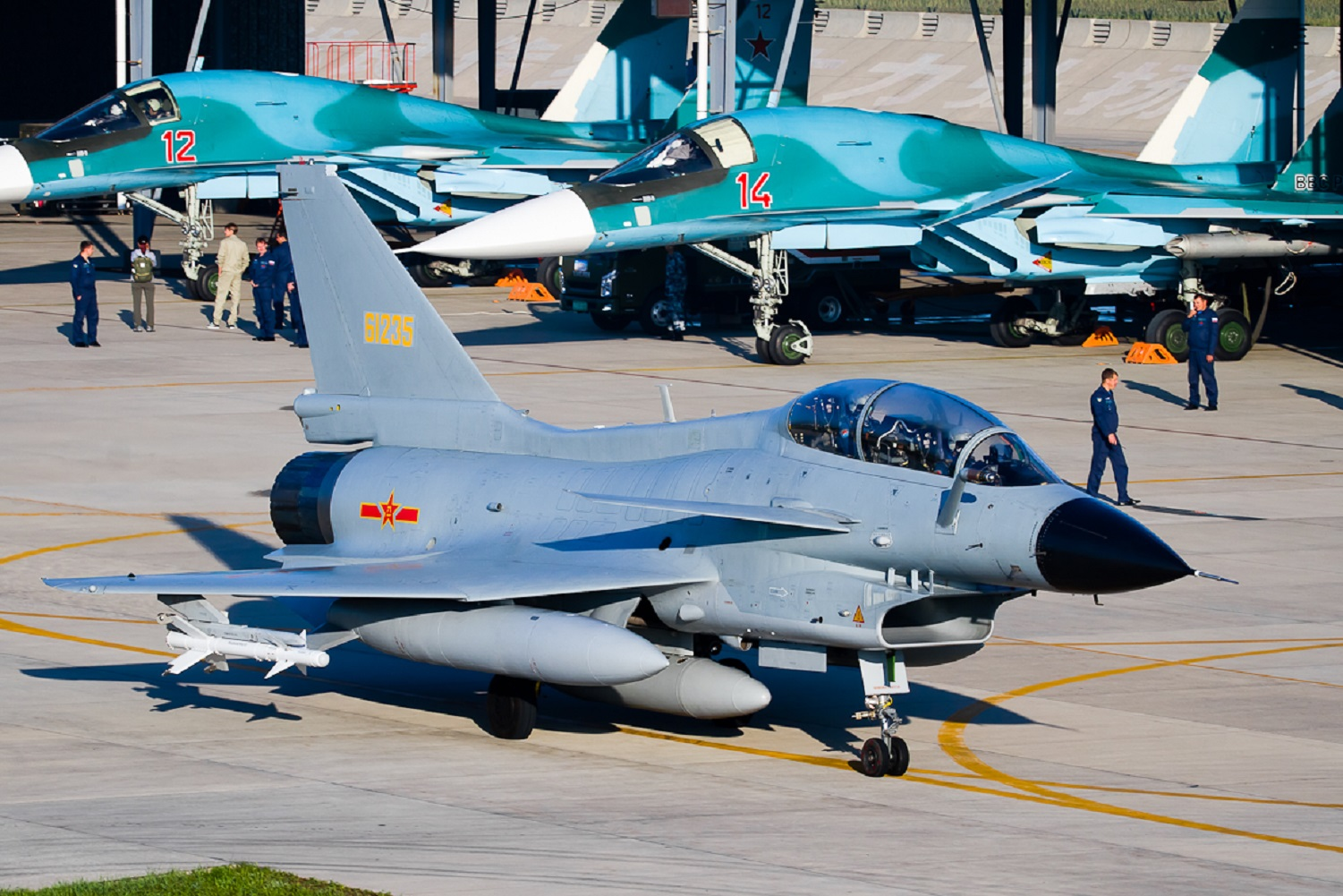 China Is Sending Some Of Its Most Deadly Bombers And