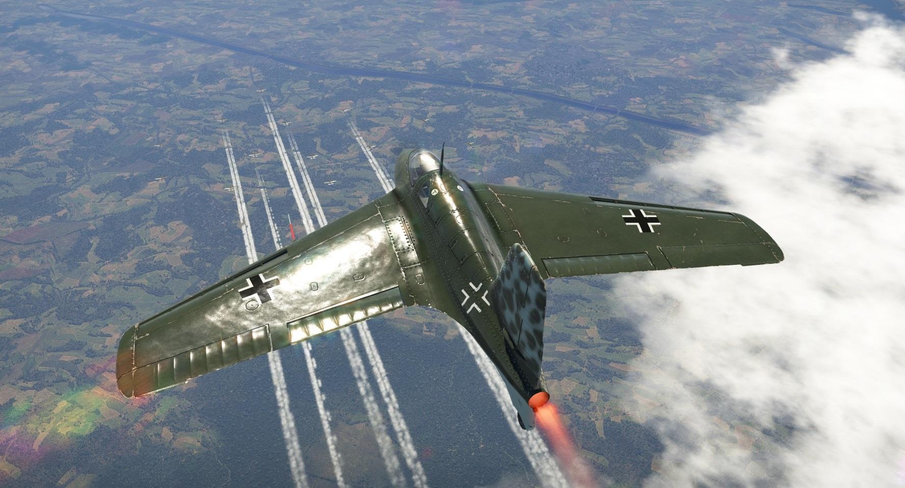 Hitler's Secret Weapon: Meet Nazi Germany's Me 163 (A Rocket-Powered