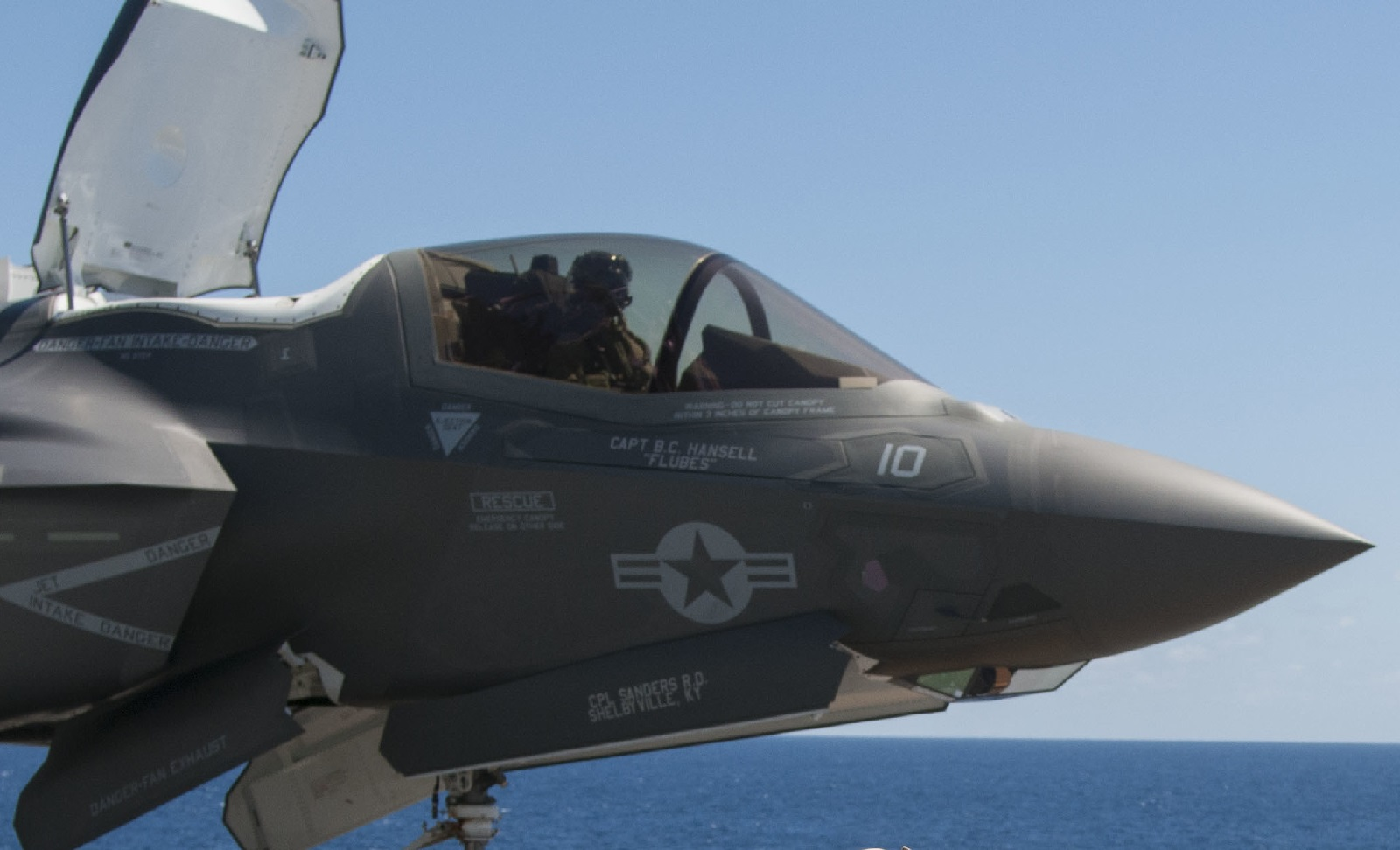 """A Marine Watches an F-35: """"It was like...watching a"""