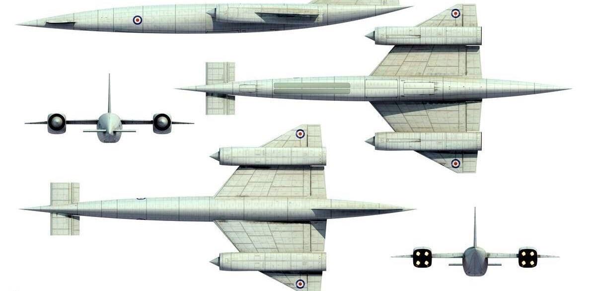 Meet Britain's Avro 730: A Better Spy Plane Than the SR-71?