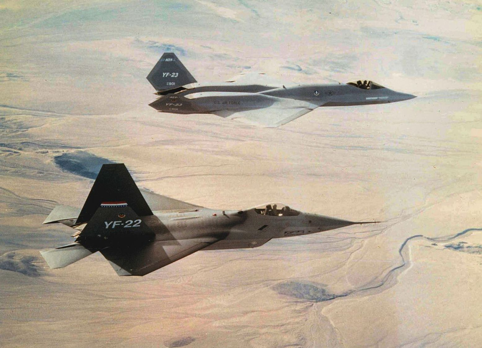 The F-22s Competition: YF-23A Thermal Designer Tells Us Some Very