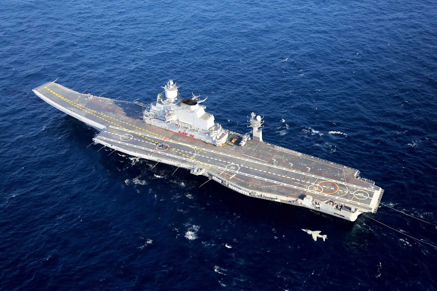 Why No Nation Should Mess with India's Aircraft Carriers