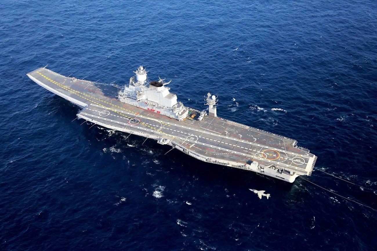 The Indian Navy Eyes a Third Aircraft Carrier