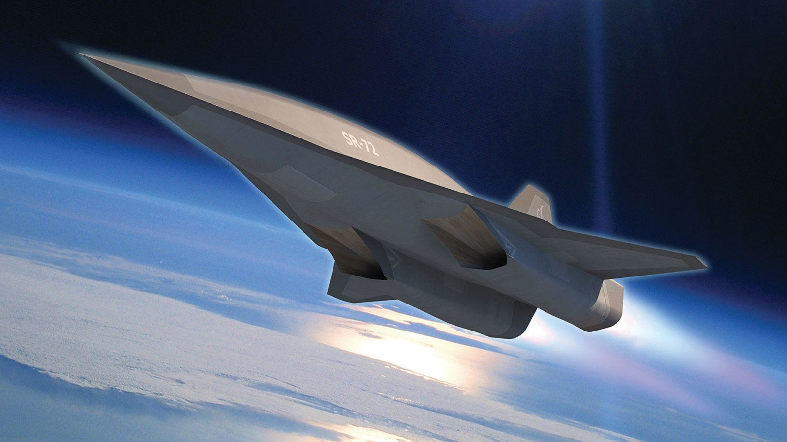 The Super Secret SR-72 Spy Plane (That Might Also Be a Stealth Bomber)