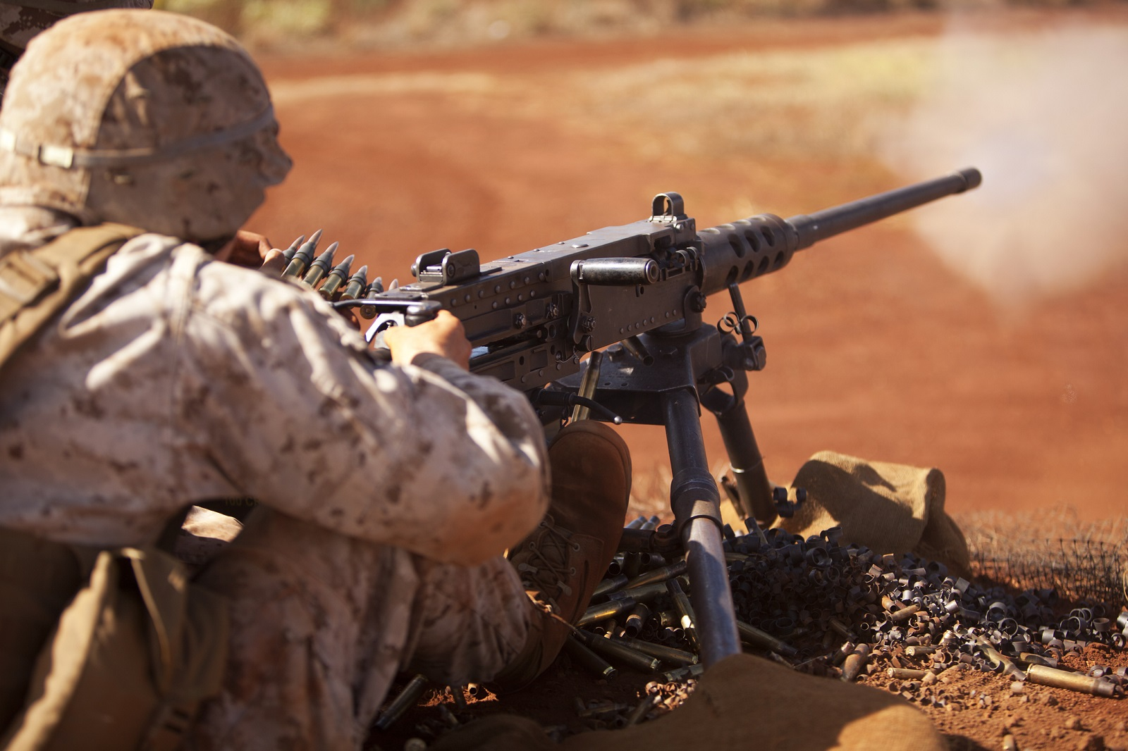 Why America's Enemies Hate the Army's M2 .50 Caliber Machine Gun