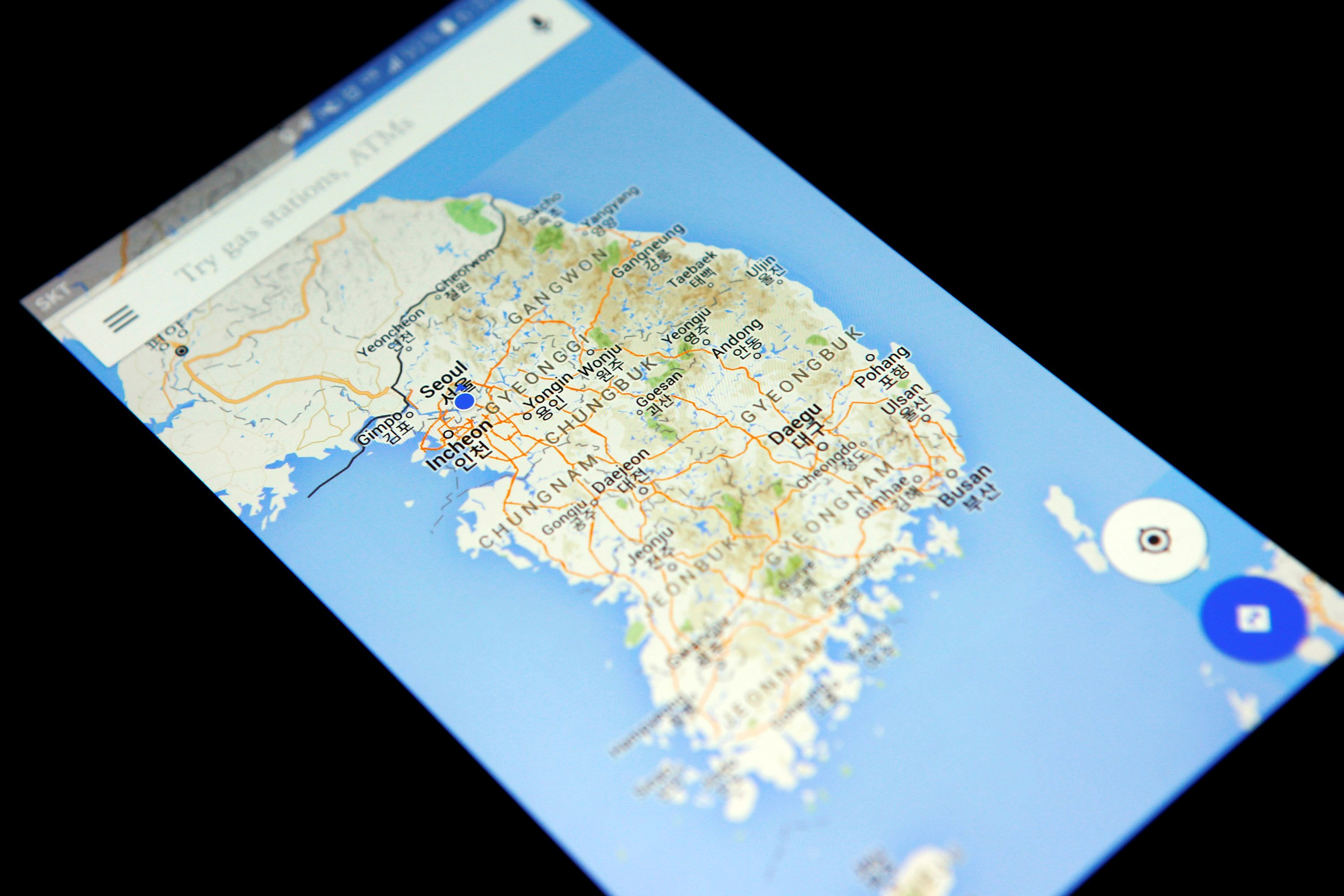 One Thing North Korea Has That The South Doesn T Google Maps