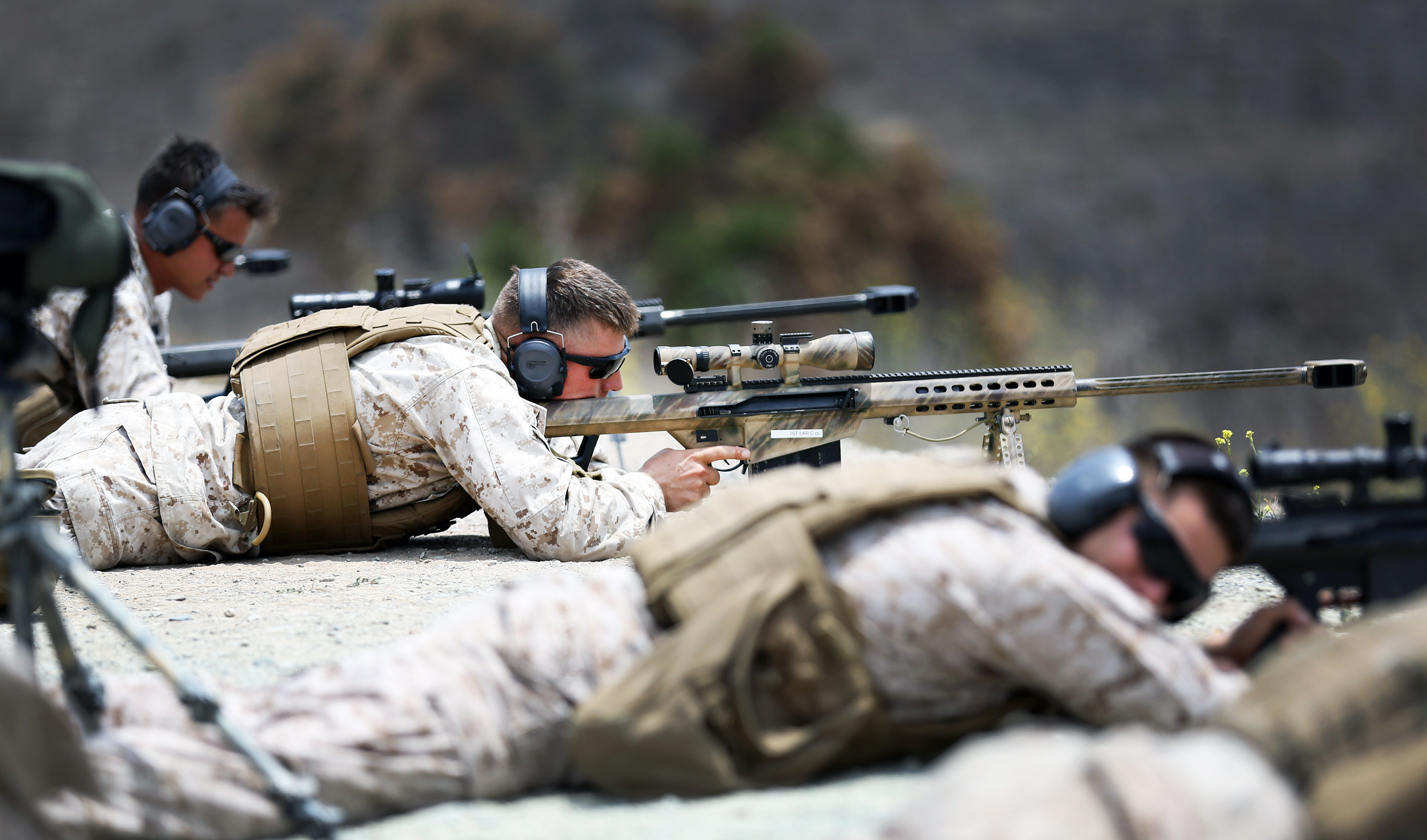 A Marine's M107 Sniper Rifle Failed During a Firefight—so He Called Customer Service