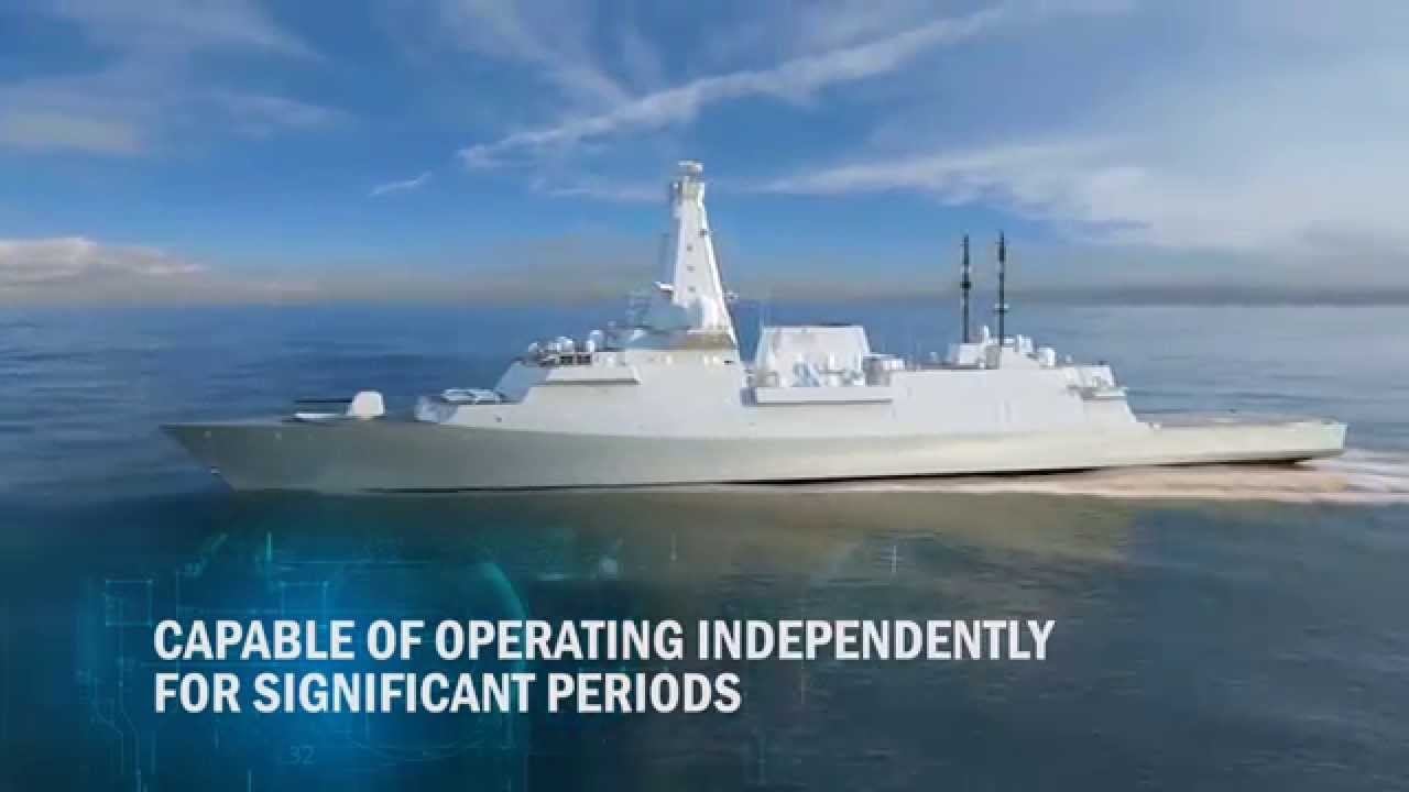 Attention Navy Fans, Britain's Type 26 Frigate Is Nearly Here