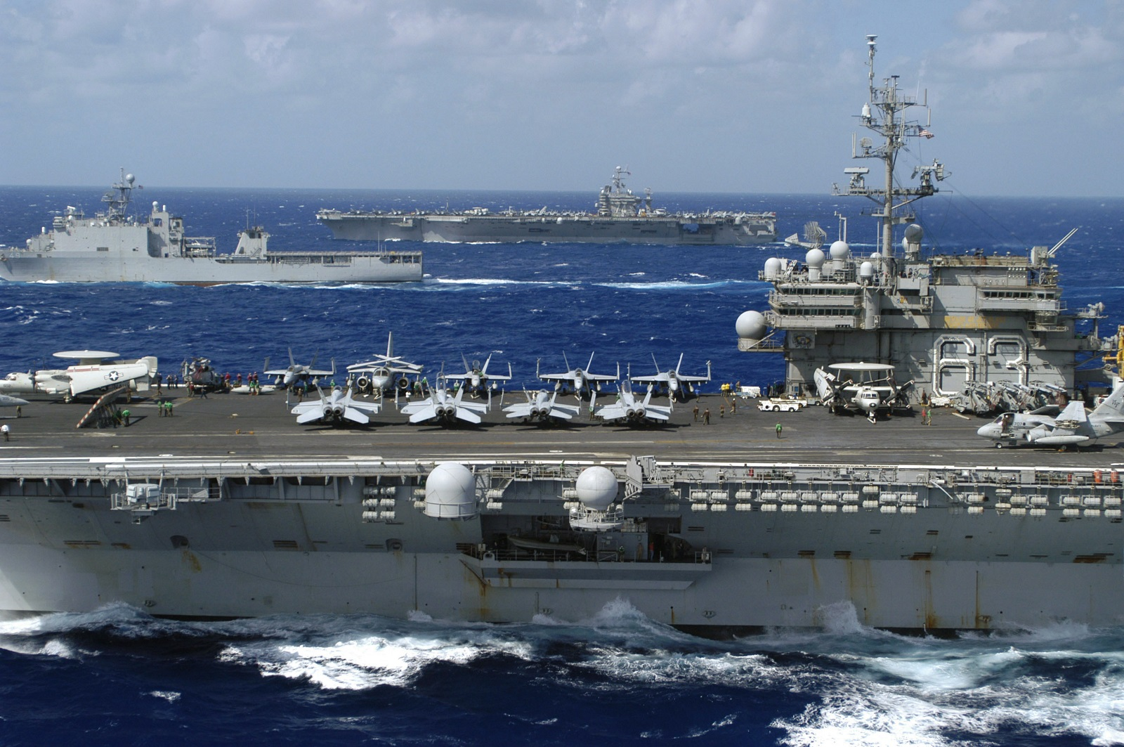 Floating Air Base: Why America's Nimitz-Class Aircraft Carriers Have