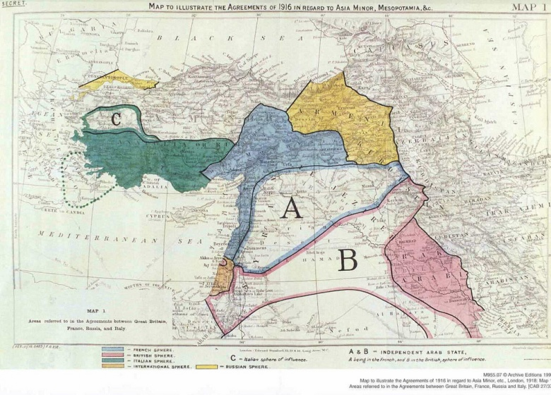 Isis Desire To Erase Sykes Picot Is Rooted In Fiction Not History