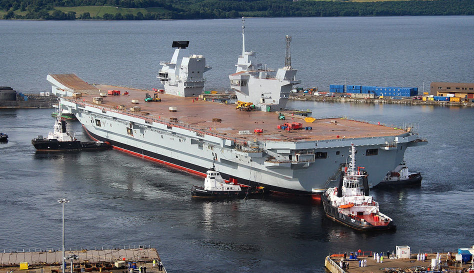 The Royal Navy Is Back (Thanks to a New Aircraft Carrier Armed with Stealth F-35s)