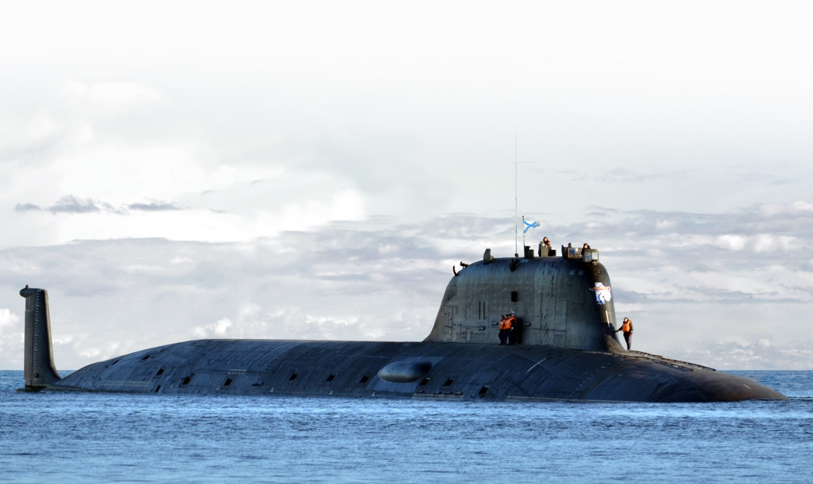 "Russia's New Submarine Has Big Problems: ""Design Flaws Were Discovered."""