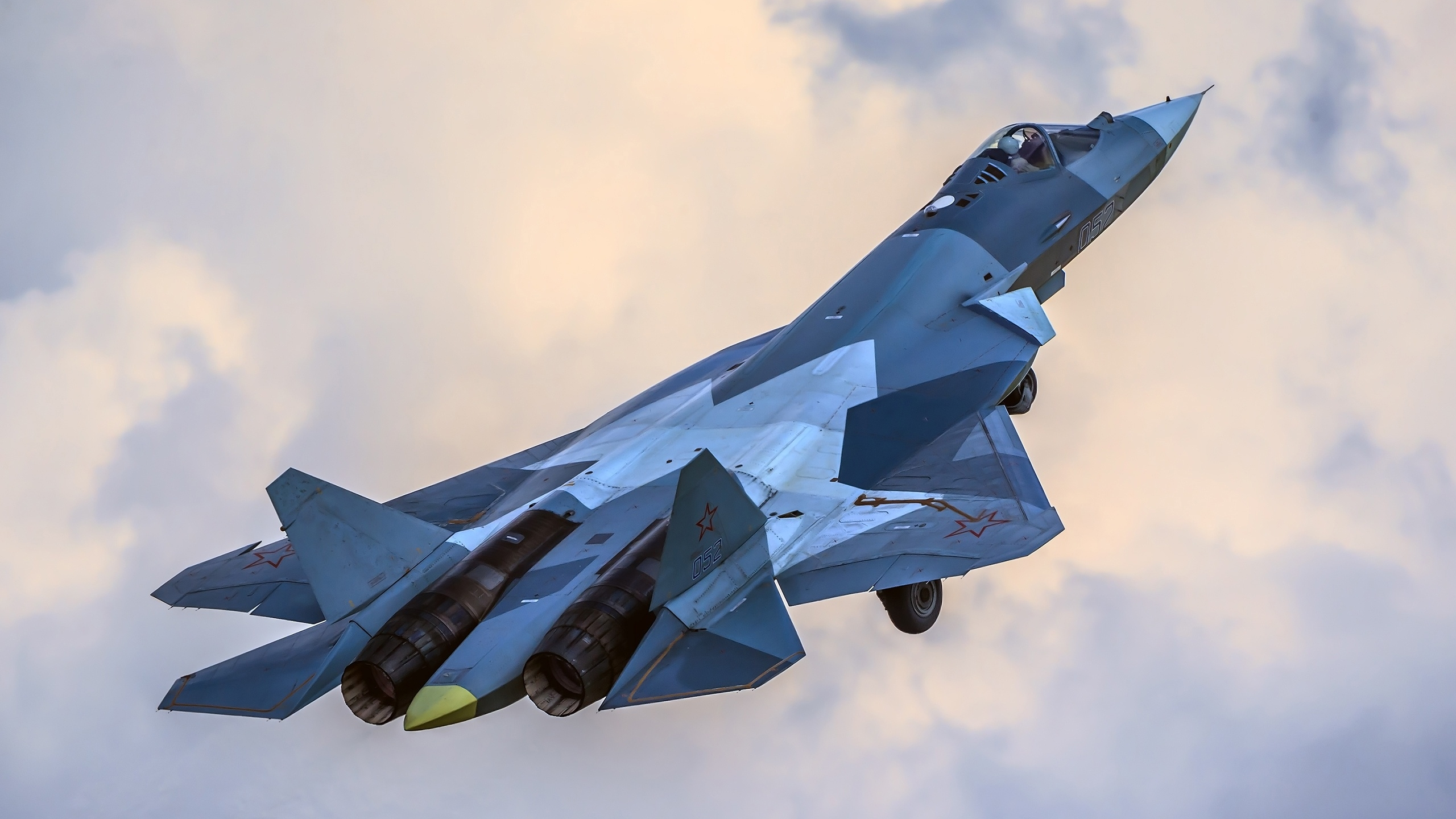 Did Russia's Deadly Su-57 Stealth Fighter Get Ready for 'War' in