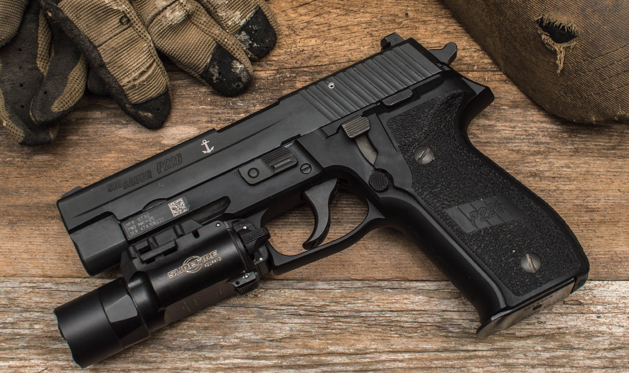 The Sig Sauer P226: Navy's SEALs' Gun of Choice (To Be Replaced By