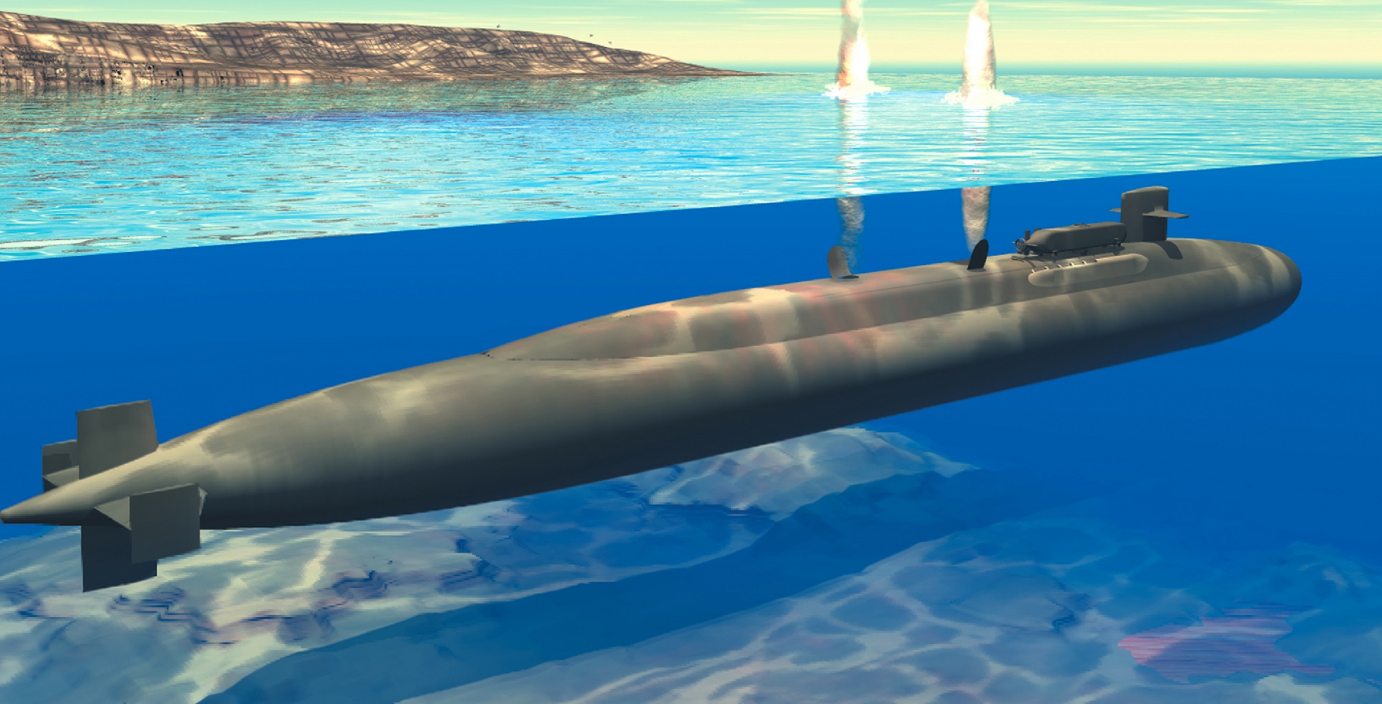 Back in 2010, the U.S. Navy Surfaced 3 Cruise Missile Submarines (As A Warning to China)