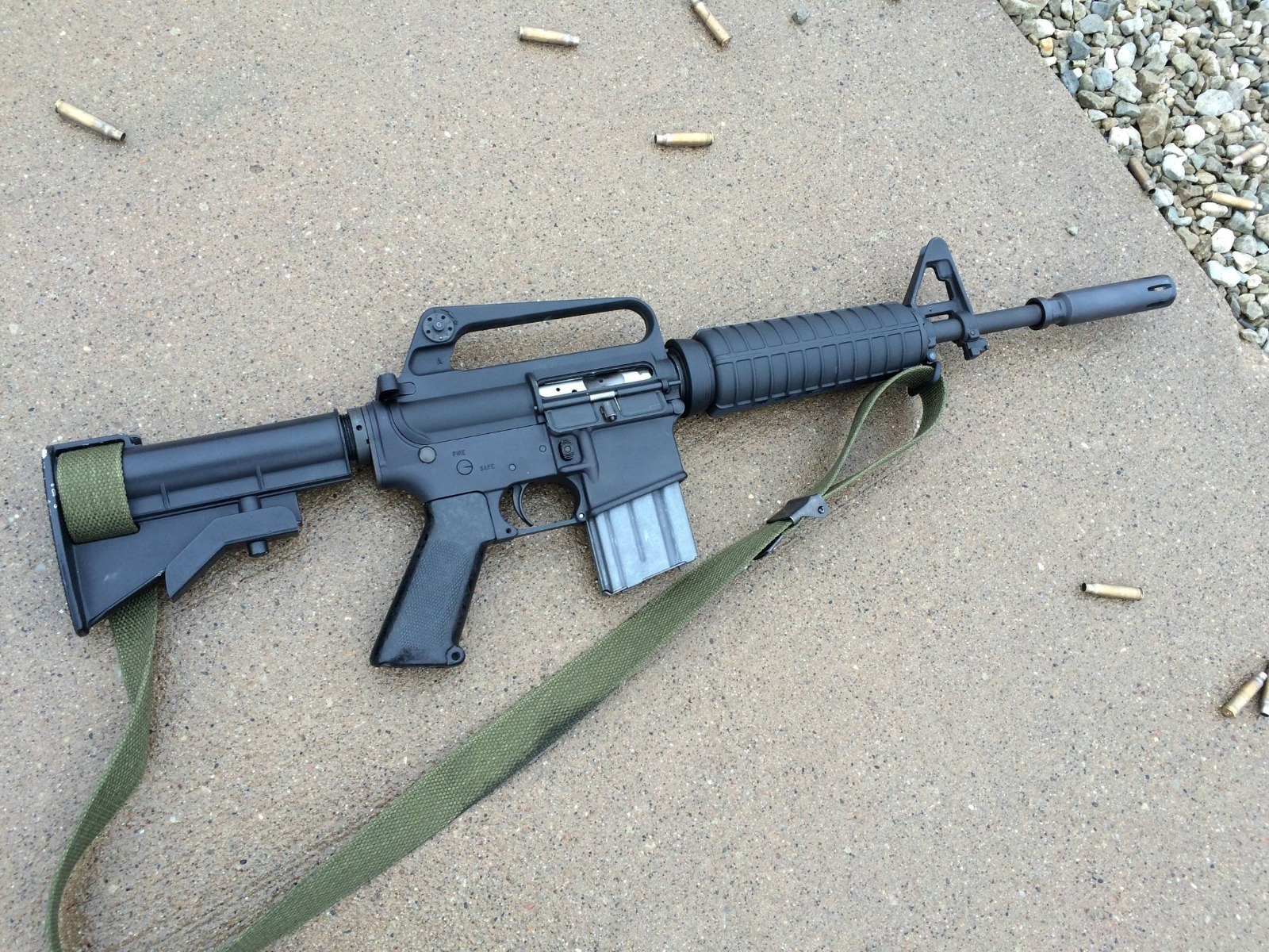 GAU-5A: You Can Now Own a Clone of the Air Force's Micro-AR Style Rifle