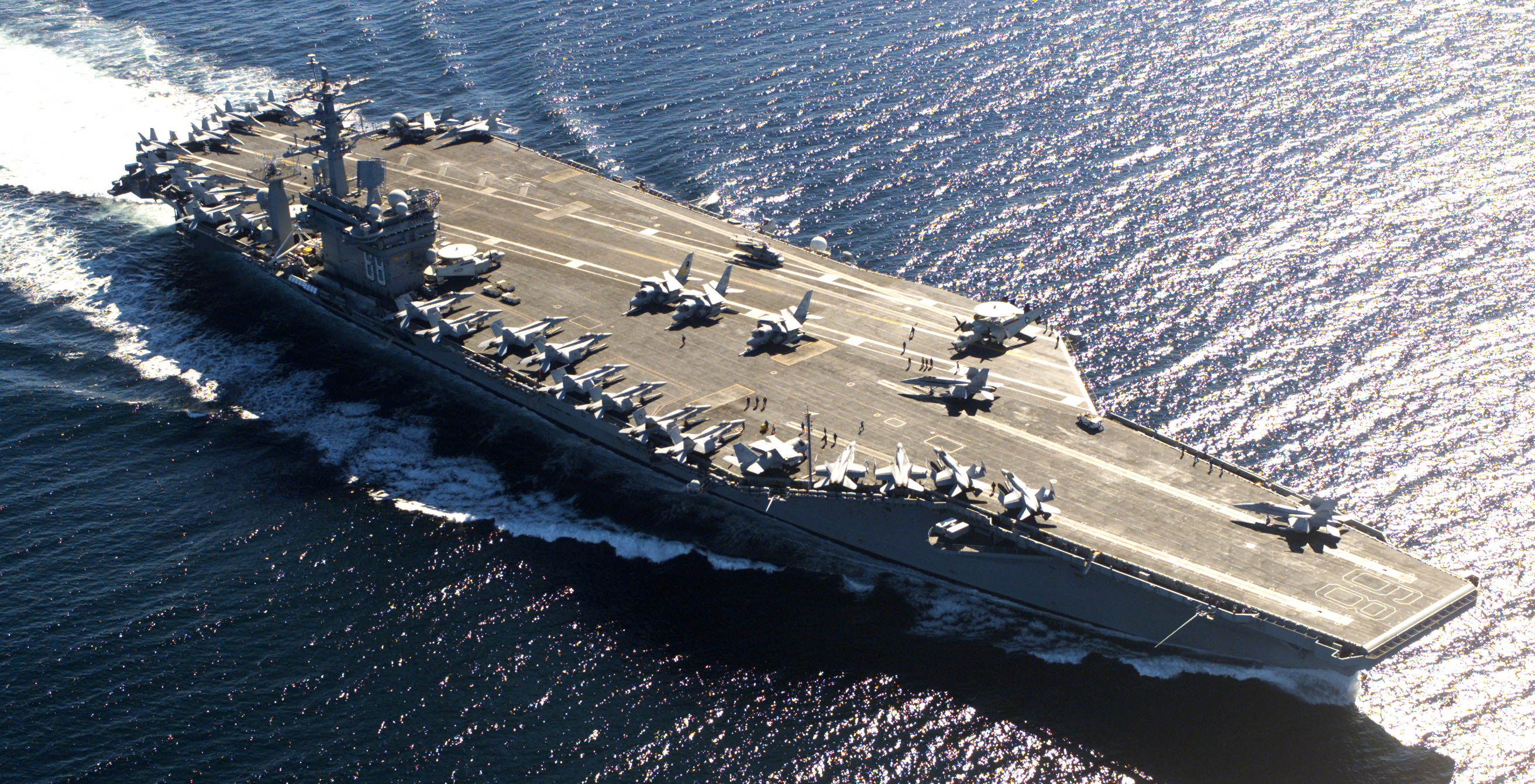 These 'Old' Aircraft Carriers Made America a Superpower ...