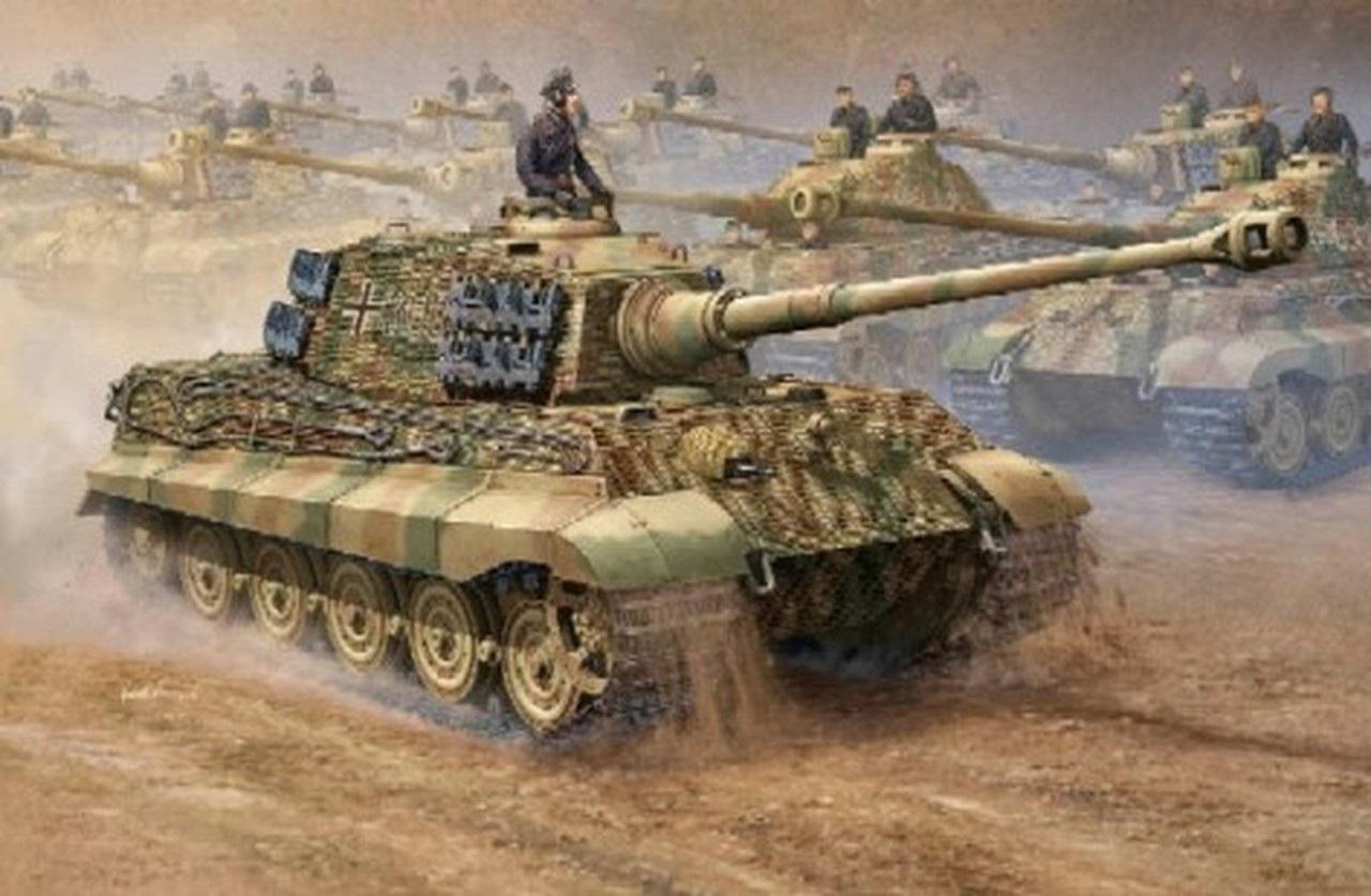 WW2 German Royal Tiger Tank PIcture