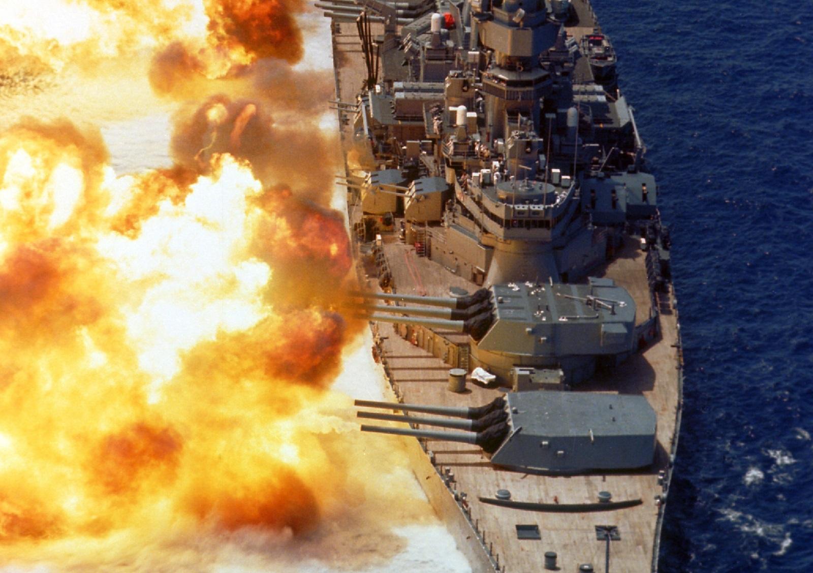 Stealth vs. Battleship: What if America's Last Battleship Attacked the Zumwalt-Class Destroyer?