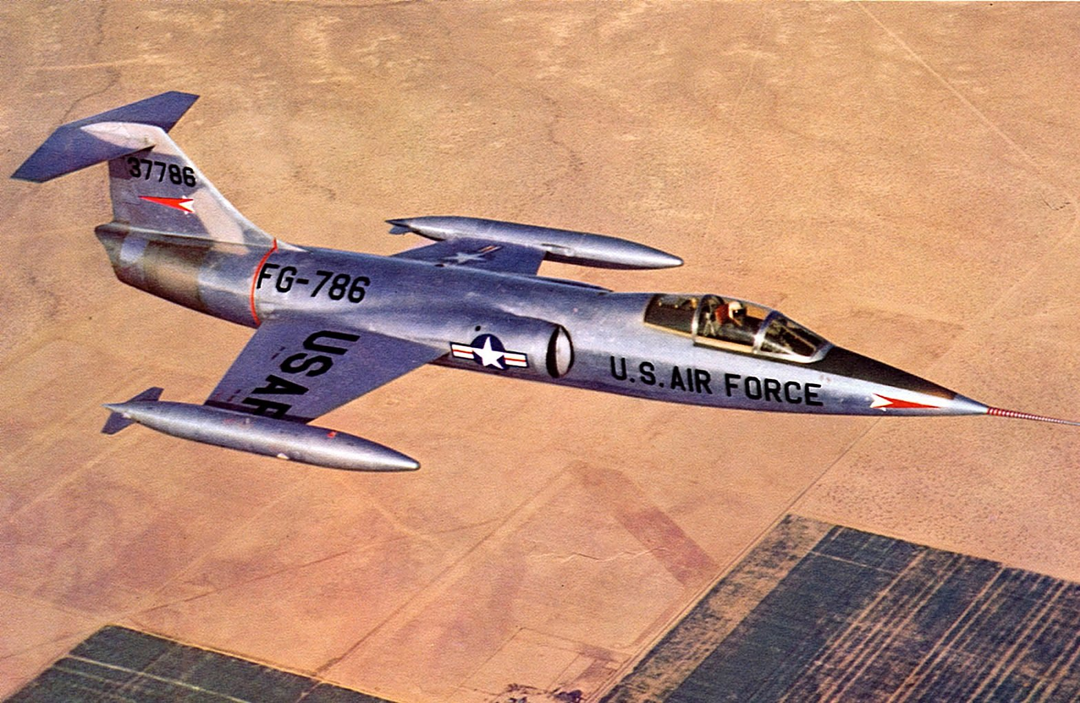 Meet the F-104 Lancer: The Super Starfighter That Never Was | The National  Interest
