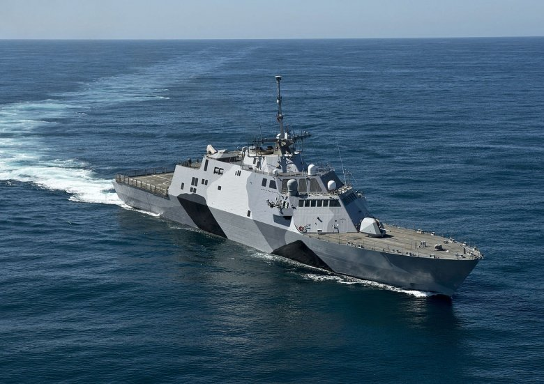 US Navy's New Littoral Combat Ship: Now Armed with Hellfire