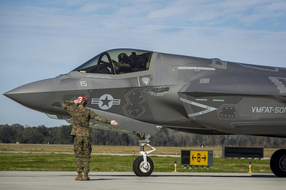 The U K  Royal Air Force Might Have F-35s (But Something Is