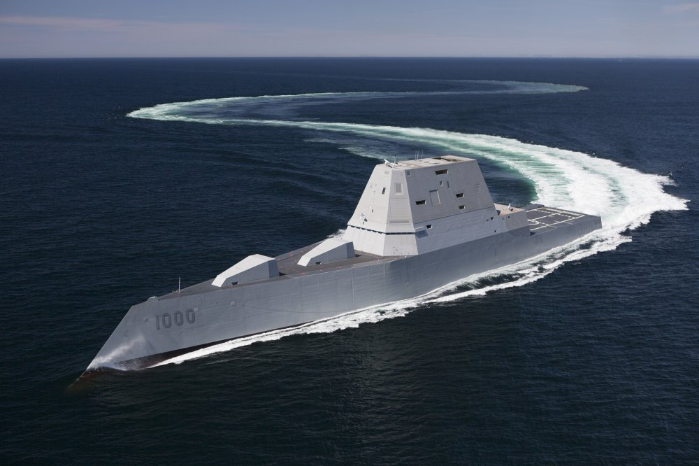 The U S  Navy's Next Big Warship Could Look Just Like This