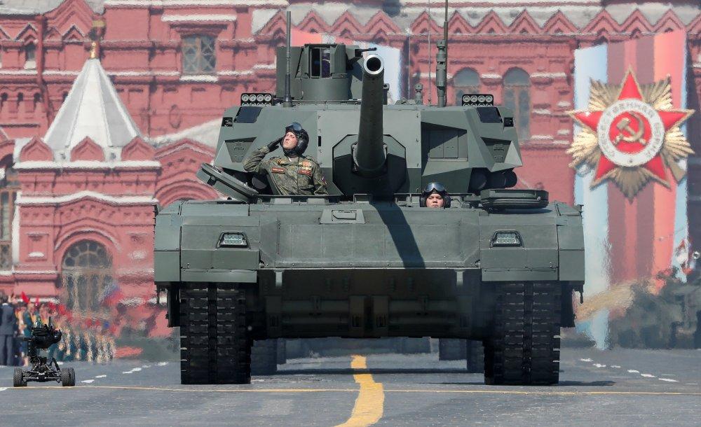 Fogo! O tanque russo T-14 já foi testado na Síria