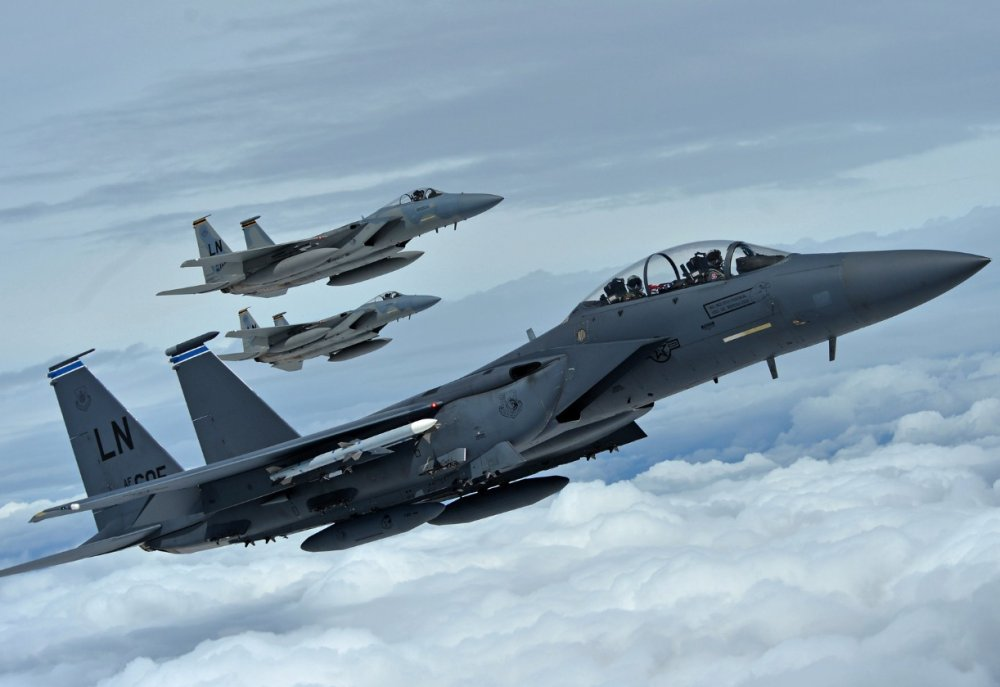 Air Force Plans to Keeps New F-15EX Jets Alive By Arming Them With Super  Long-Range Missiles | The National Interest