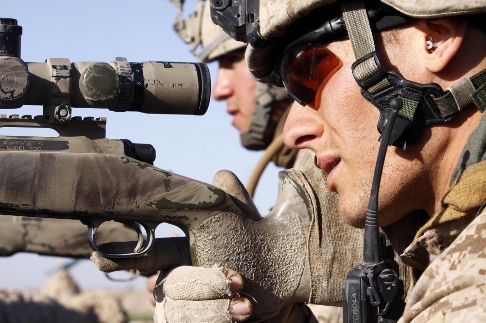 """The Marine Corps on Its New Sniper Rifle: """"After the first"""