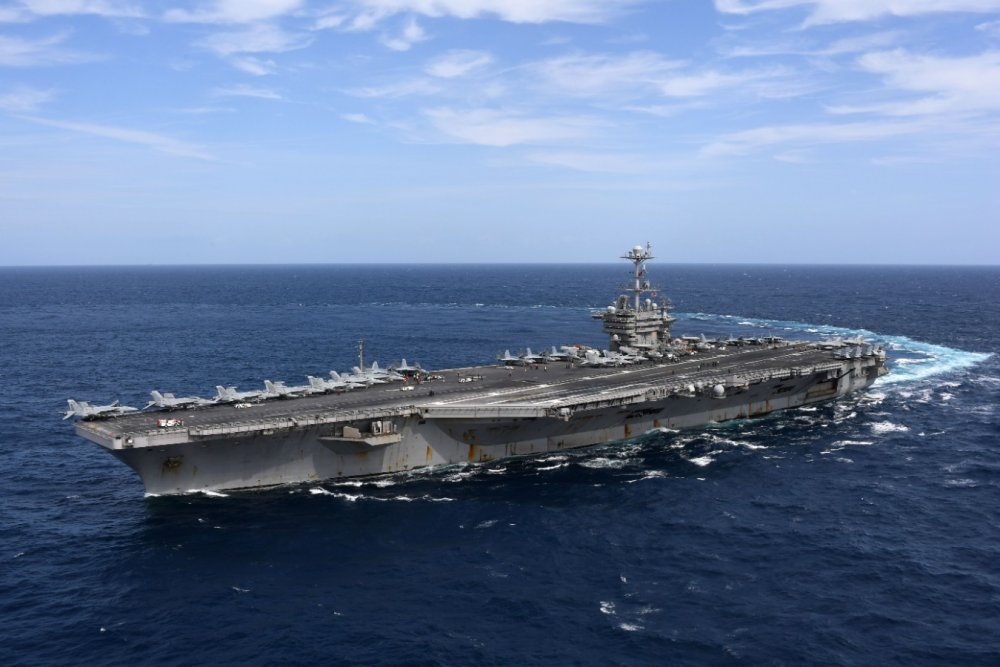 China Threatened to Sink Two U.S. Navy Aircraft Carriers Last Year
