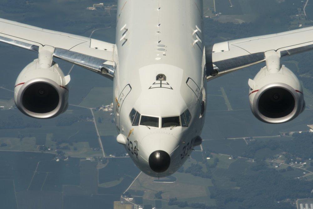 The U S  Navy's P-8 Poseidon Patrol Plane Has a Neat Feature