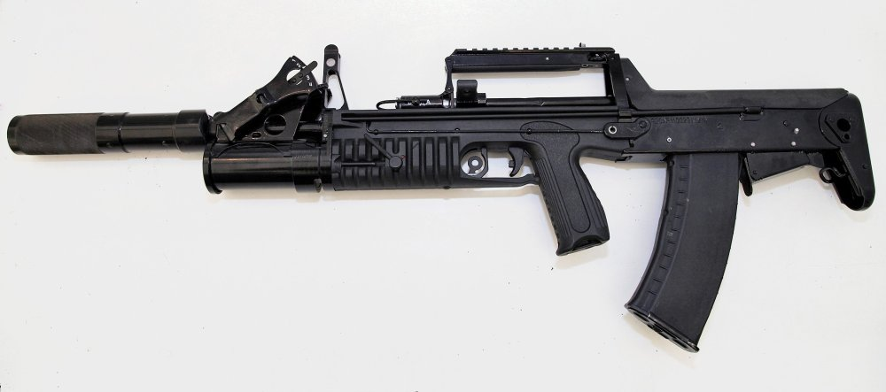 This Russian Underwater Assault Rifle Isn't Science Fiction