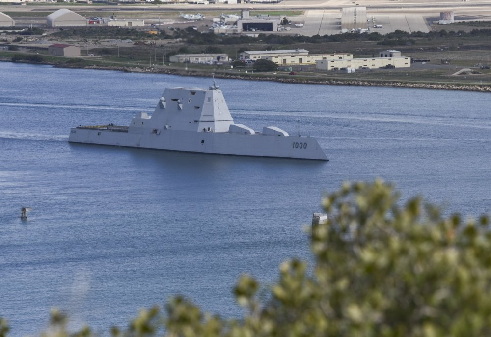 Destroyer Death Match: America's Zumwalt Stealth Warship vs