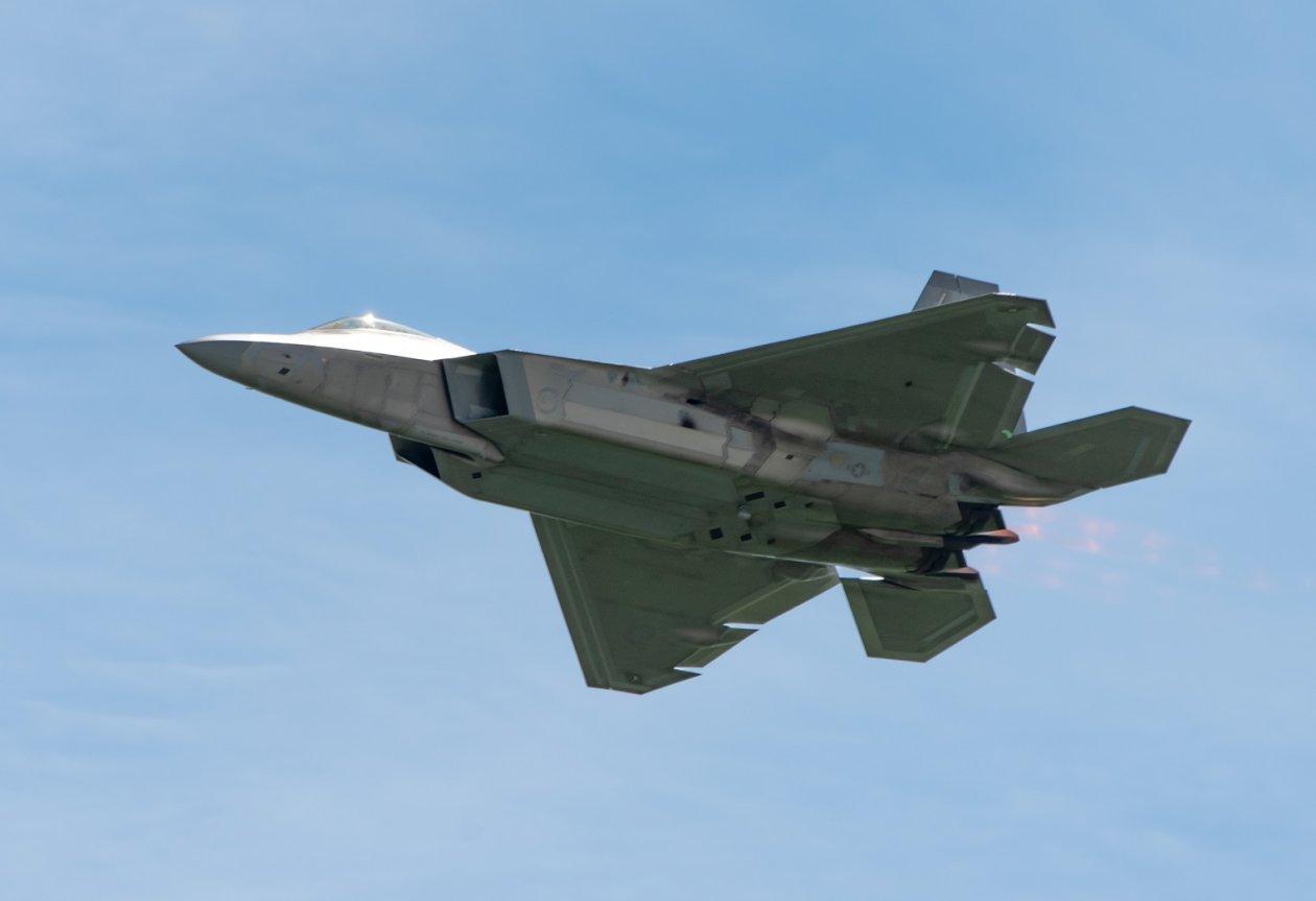 U S  Air Force F-22s, F-16s, and F-15s Just Did a